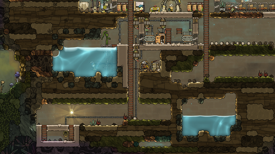 Polluted Water Vent Oxygen Not Included